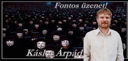Kásler Árpád - Fontos üzenet!