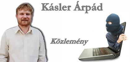 Kásler Árpád-Közlemény