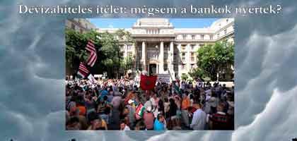Devizahiteles ítélet: mégsem a bankok nyertek?
