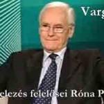 A devizahitelezés felelősei Róna Péter szerint – Megszólal Varga István MNB.