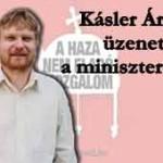Kásler Árpád közleménye a miniszterekhez