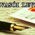 Egy olvasói levél.Tisztelt Nemzeti Civil Kontroll!