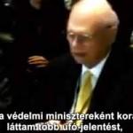Kanada volt védelmi miniszterének leleplező beszéde a földönkívüliekről
