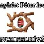 Nemzeti Civil Kontroll-FELHÍVÁS+Menyhért Péter üzenete