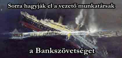 Sorra hagyják el a vezető munkatársak a Bankszövetséget