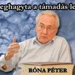Róna elárulta: A Kúria meghagyta a támadás lehetőségét