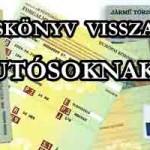 TÖRZSKÖNYV VISSZAKÉRŐ, AUTÓSOKNAK!