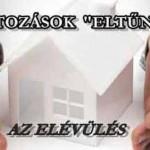 """A TARTOZÁSOK """"ELTŰNÉSE""""- AZ ELÉVÜLÉS"""