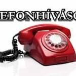 TELEFONHÍVÁSOK – KÁSLER ÁRPÁD