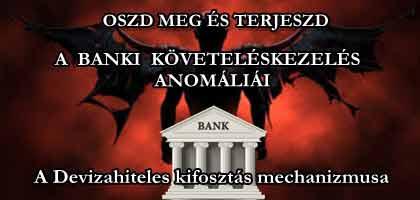 OSZD MEG ÉS TERJESZD: A BANKI KÖVETELÉSKEZELÉS ANOMÁLIÁI.