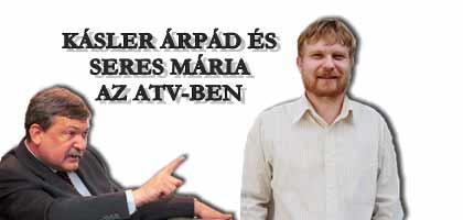KÁSLER ÁRPÁD ÉS SERES MÁRIA AZ ATV-BEN.