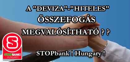 STOPBANK! HUNGARY! - INTERKONTINENTÁLIS BALLISZTIKUS CSALÁSOK ELLEN!