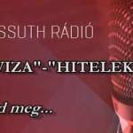 """""""DEVIZA""""-""""HITELEKRŐL"""" A KOSSUTH RÁDIÓBAN."""