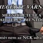 """MEGÉRTE VÁRNI: MEGSZÜLETETT A """"DEVIZAHITELES"""" MENTŐCSOMAG."""