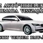 """AZ AUTÓ""""HITELEK"""" HARMADA VISSZAJÁR? AVAGY SUZUKIT VETTEM BMW-ÁRON!"""
