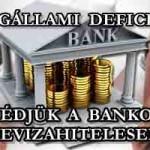 """JOGÁLLAMI DEFICIT - AVAGY VÉDJÜK A BANKOKAT A """"DEVIZA""""-""""HITELESEKTŐL"""""""