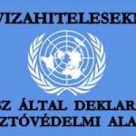 """""""DEVIZAHITELESEKNEK"""" - ENSZ ÁLTAL DEKLARÁLT FOGYASZTÓVÉDELMI ALAPJOGOK."""
