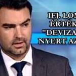 """IFJ. LOMNCI ZOLTÁN - ÉRTÉKELÉS """"DEVIZA""""-PERT NYERT AZ ÁLLAM."""