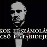 A BANKOK ELSZÁMOLÁSÁNAK VÉGSŐ HATÁRIDEJE