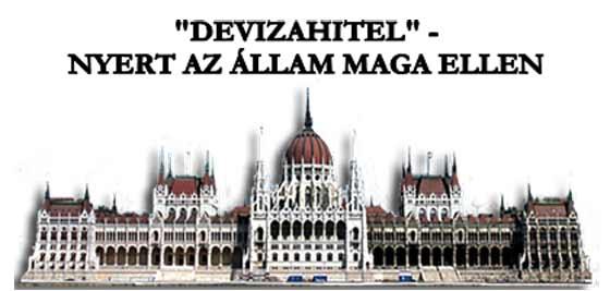 """""""DEVIZAHITEL"""" - NYERT AZ ÁLLAM MAGA ELLEN"""