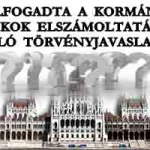ELFOGADTA A KORMÁNY A BANKOK ELSZÁMOLTATÁSÁRÓL SZÓLÓ TÖRVÉNYJAVASLATOT!