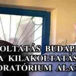 KILAKOLTATÁS BUDAPESTEN - A KILAKOLTATÁSI MORATÓRIUM ALATT.