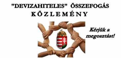 """KÖZLEMÉNY – """"DEVIZAHITELES"""" ÖSSZEFOGÁS!"""