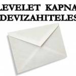 """LEVELET KAPNAK A """"DEVIZAHITELESEK"""""""