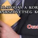 MEGÁLLAPODÁS A KORMÁNY ÉS A BANKSZÖVETSÉG KÖZÖTT!