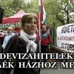 """""""DEVIZAHITELEK"""" – PÓKÁÉK HÁZHOZ MENNEK"""