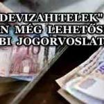 """""""DEVIZAHITELEK""""-VAN MÉG LEHETŐSÉG TOVÁBBI JOGORVOSLATOKRA"""