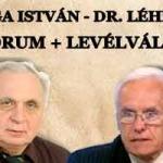 VARGA ISTVÁN – DR. LÉHMANN FÓRUM + LEVÉLVÁLTÁS