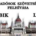 DEVIZAADÓSOK SZÖVETSÉGÉNEK FELHÍVÁSA