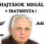 VÉGREHAJTÁSI ZÁRADÉKKAL INDULT VÉGREHAJTÁSOK MEGÁLLÍTÁSA – Dr. Léhmann György