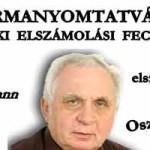 FORMANYOMTATVÁNY A BANKI ELSZÁMOLÁSI FECNIKRE – DR. LÉHMANN