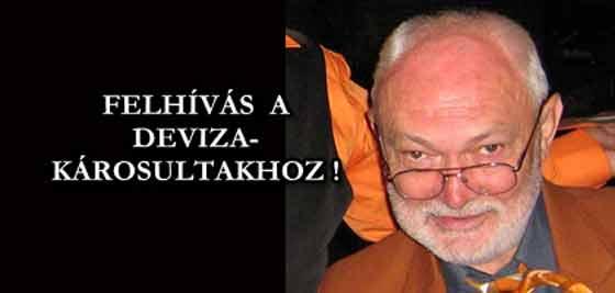 FELHÍVÁS A DEVIZAKÁROSULTAKHOZ! - TEO FISER