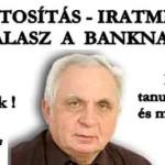 FORINTOSÍTÁS – IRATMINTÁK -VÁLASZ A BANKNAK