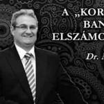 """A """"KORREKT"""" BANKI ELSZÁMOLÁSRÓL."""