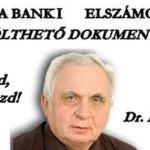 DR. LÉHMANN - VÁLASZ A BANKI ELSZÁMOLÁSRA - LETÖLTHETŐ DOKUMENTUM.