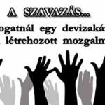 A SZAVAZÁS – DEVIZAKÁROSULTAK MOZGALMA.