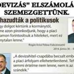 """""""DEVIZÁS"""" ELSZÁMOLÁS – SZEMEZGETTÜNK. NO COMMENT"""
