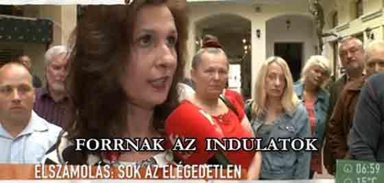 ELSZÁMOLÁS - BANK SOKK - FORRNAK AZ INDULATOK.