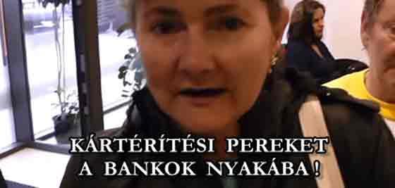 KÁRTÉRÍTÉSI PEREKET A BANKOK NYAKÁBA!