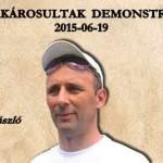DEVIZAKÁROSULTAK DEMONSTRÁCIÓJA 2015-06-19