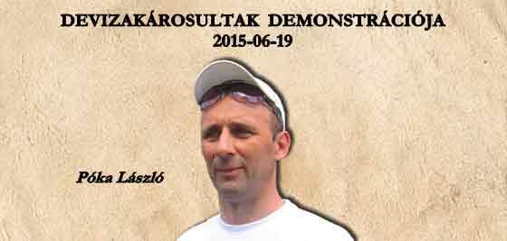 DEVIZAKÁROSULTAK DEMONSTRÁCIÓJA 2015-06-19.