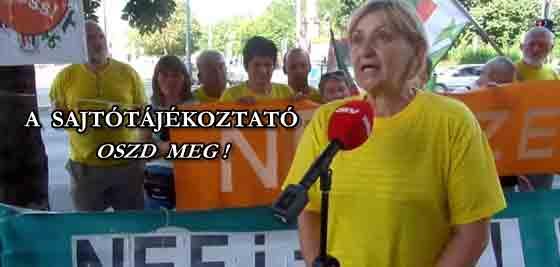 A SAJTÓTÁJÉKOZTATÓ - OSZD MEG!