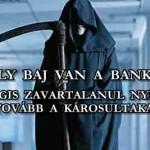 """KOMOLY BAJ VAN A BANKOKKAL, MÉGIS ZAVARTALANUL """"NYÍRJÁK"""" A DEVIZAKÁROSULTAKAT TOVÁBB"""