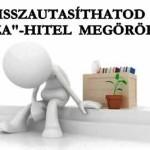 """VISSZAUTASÍTHATOD A """"DEVIZA""""-HITEL MEGÖRÖKLÉSÉT"""