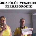 A SÁRGAPÓLÓS VESZEDELEM FELHÁBORODIK