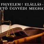 FIGYELEM! ELÁLLÁS – LETÖLTHETŐ ÜGYVÉDI MEGHATALMAZÁS